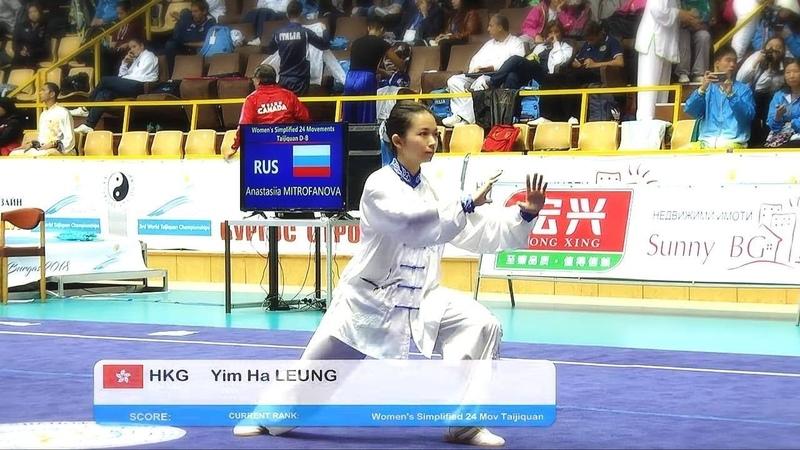 第三屆世界太極拳錦標賽女子組24式太極拳梁艷霞 9 1分 冠軍
