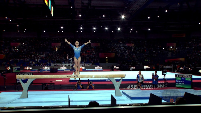 MELNIKOVA Angelina (RUS) - 2019 Artistic Worlds, Stuttgart (GER) - Qualifications Balance Beam