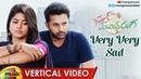 Very Very Sad Vertical Video Song | Chal Mohan Ranga Video Songs | Nithiin | Megha | Pawan Kalyan