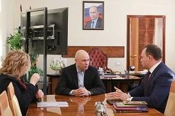 Игорь Артамонов встретился с руководителем Центрально-Черноземного межрегионального управления Росприроднадзора