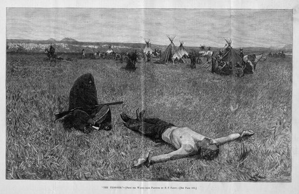 Задолго до появления белых индейские племена вели тотальные войны на уничтожение