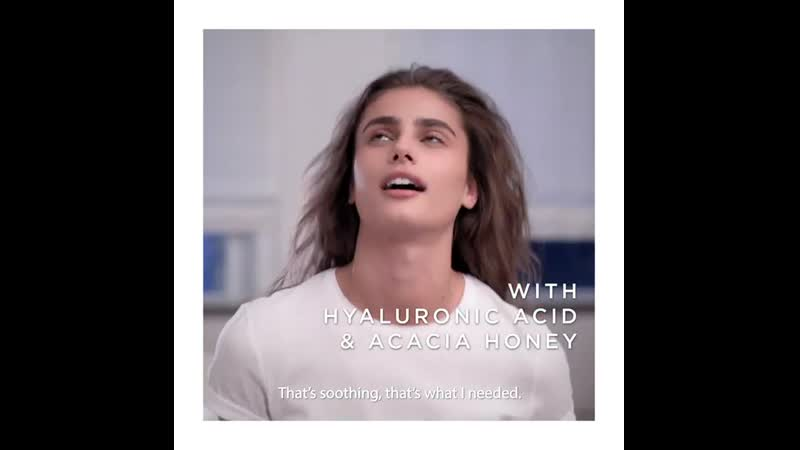 Skin feeling tired Wake it up with Tonique Confort toner It's @taylor hill fir 1080 X 1080 mp4