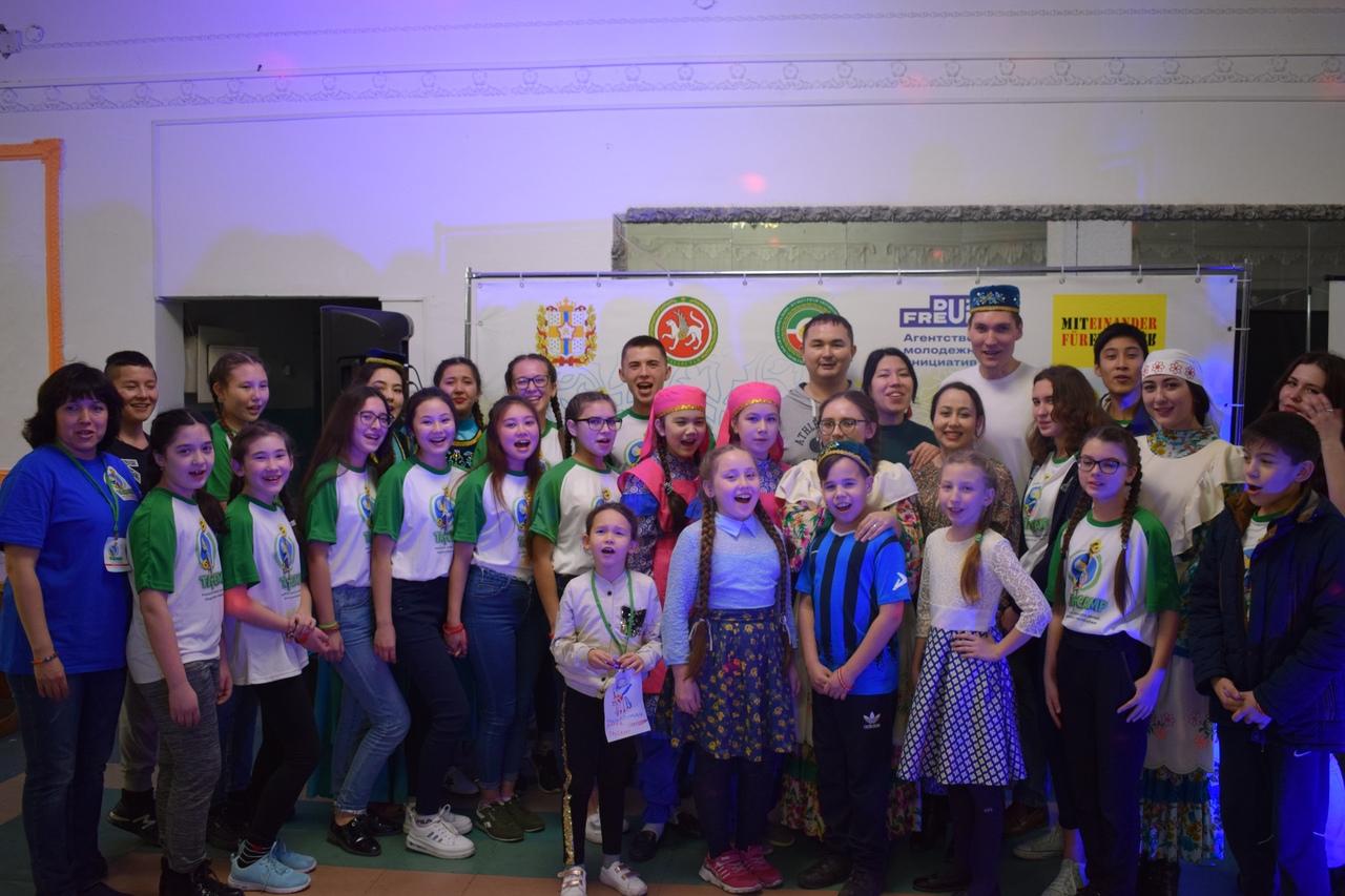 Детский Языковой лагерь TatCamp татары Омск