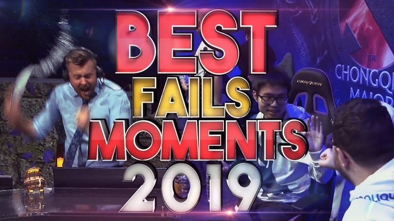 The BEST Fails and FUNNIEST Moments of 2019 - Dota 2