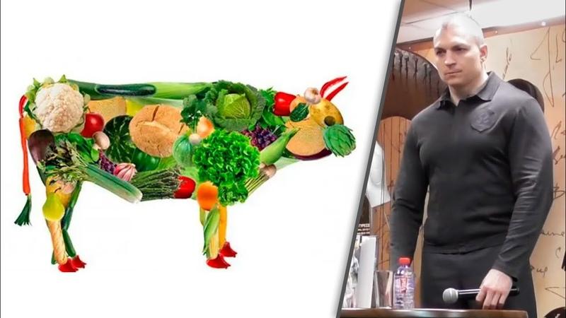 Сергей Тармашев о вегетарианстве