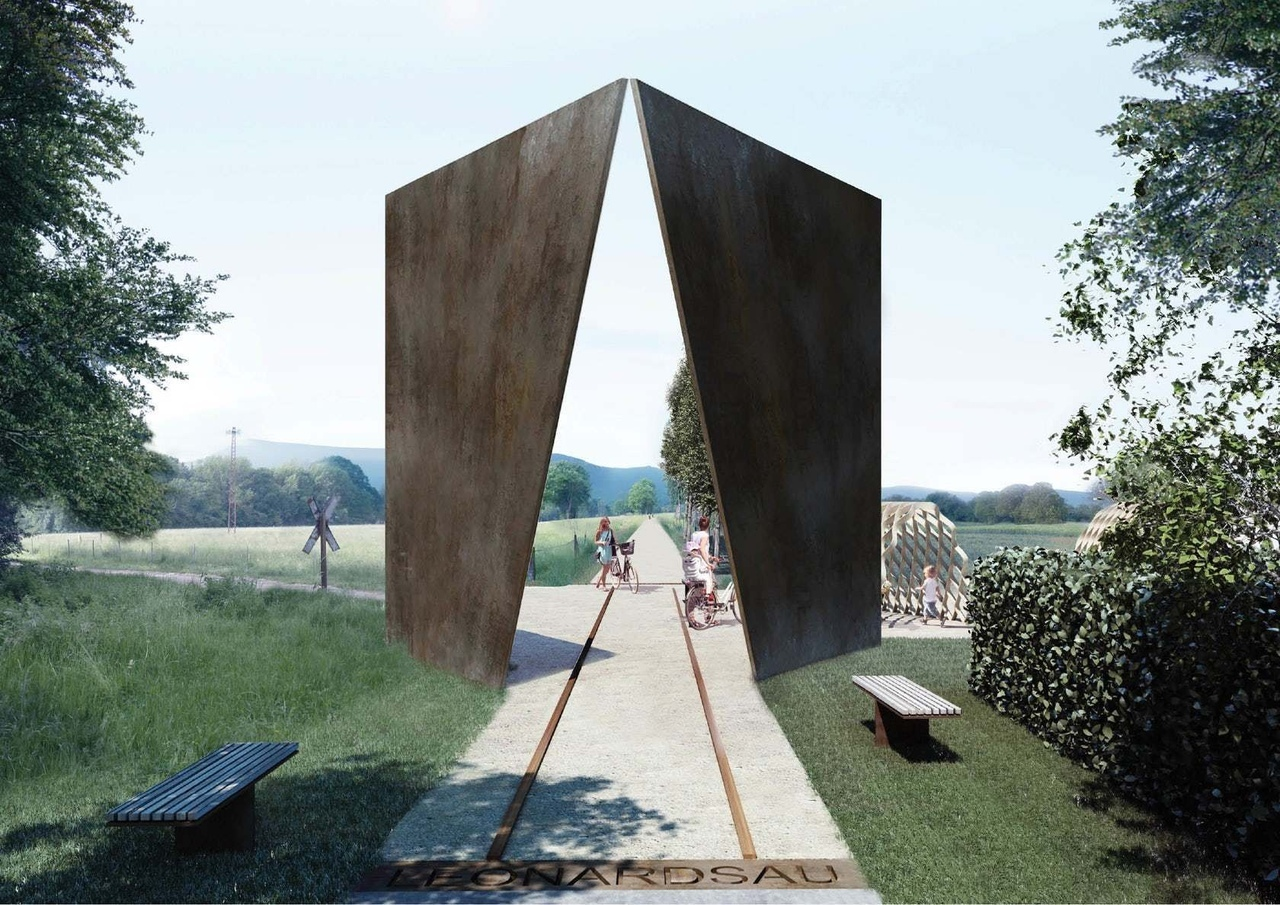 Weathered Wonder Reiulf Ramstad Arkitekten Proposes a Dramatic New Overlook in Alsace, France