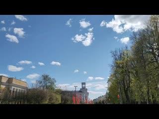 Авиация в День Победы в Смоленске