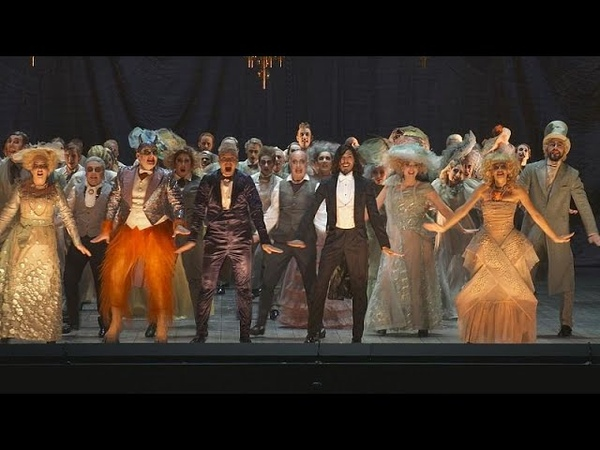 """Kosky's Orphée aux enfers visual and vocal pyrotechnics"""" at the Salzburg Festival"""