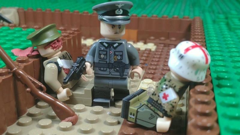 Lego WW2 First day of Great Patriotic war Первый день Великой Отечественной войны Part 1