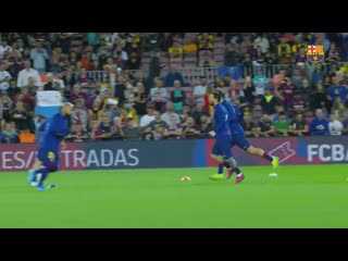 [behind the scenes] barça 4-0 sevilla from the inside