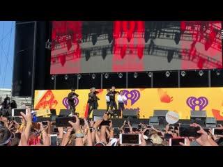 VK190921 MONSTA X fancam full @ iHeartRadio Music Festival Daytime Stage