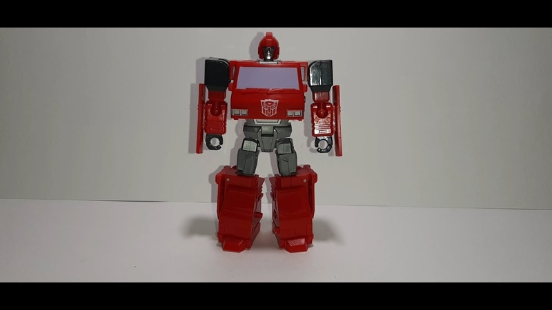 Обзор на Hot Soldiers H.S 07 IRON TIN Transformers G1 IRONHIDE