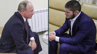 Президент РОССИИ - Владимир Путин позвонил Хабибу //Нурмагомедов ответил своему недовольному Фанату