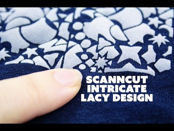 Creating an Intricate Lacy Design in ScanNCut Canvas