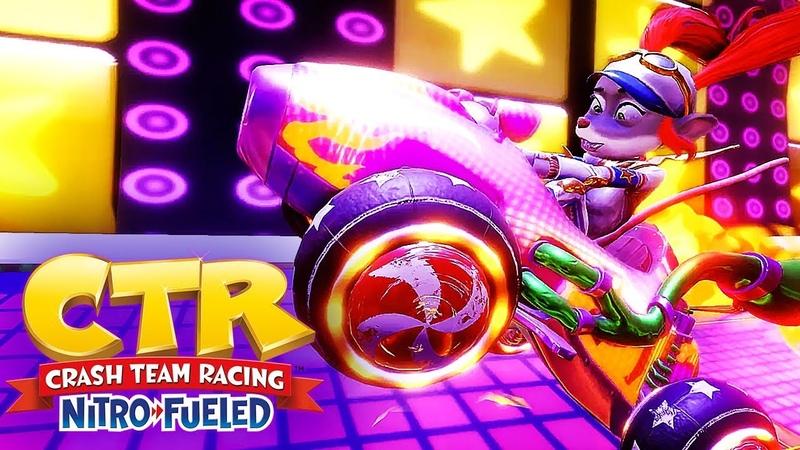 Crash Team Racing Nitro Fueled Official Neon Circus Grand Prix Trailer