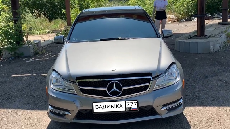 МОЯ НОВАЯ МАШИНА MERCEDES BENZ C300 4 MATIC ИЗ США