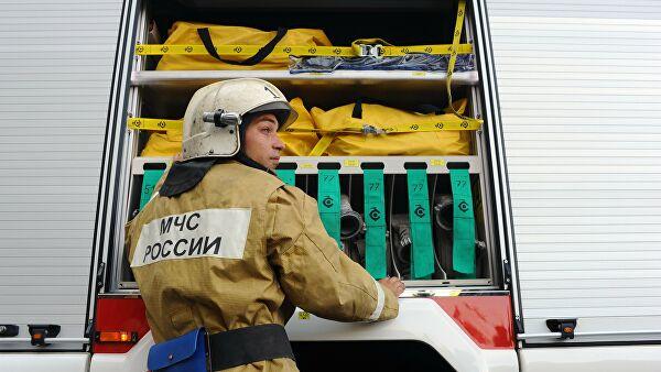 В КЧР загорелся жилой дом на территории Даусуза