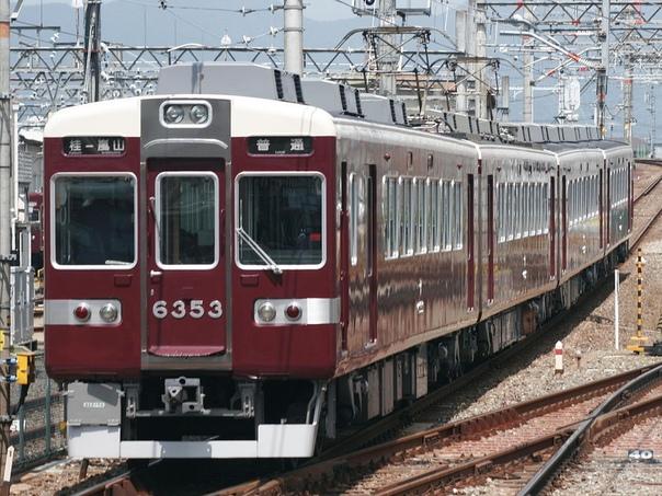 Поезд железной дороги Ханкю