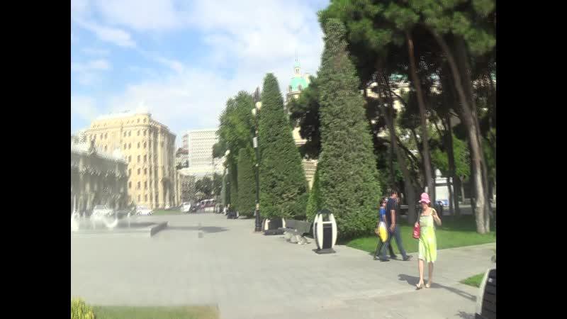 АЗЕРБАЙДЖАН БАКУ 344 Я впервые в жизни удалось побывать в Баку и искупаться в Каспийском море