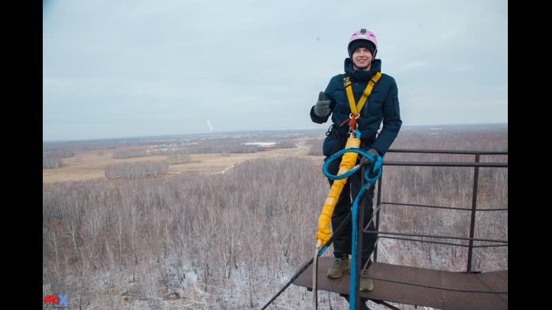 Alexey A. прыжок FreeFallProX команда ProX74 объект AT53 Chelyabinsk 2019 1 jump RopeJumping