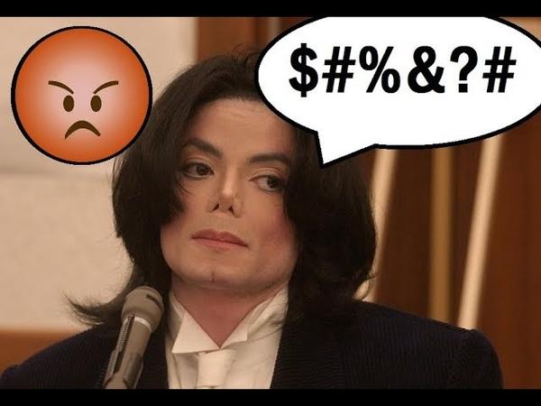 Cuando Michael Jackson Se Enoja