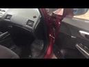 Honda Civic шумоизоляция в простом варианте В салоне стало на слух ощутимо тише