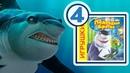 Shark tale | Подводная братва | Прохождение игры | Часть 4 | Нападение акулы Френки на Оскара