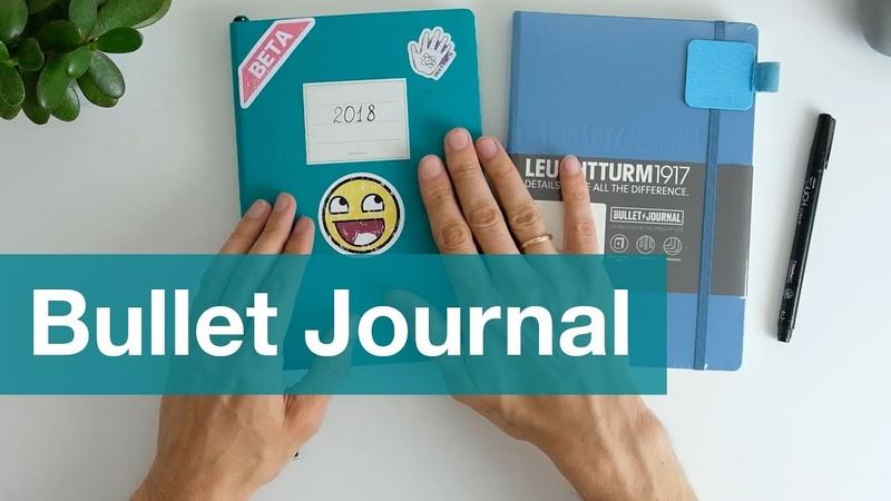 Как вести Bullet Journal Cистема учета жизни