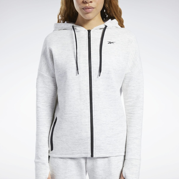 Худи United by Fitness Doubleknit Full-Zip image 4