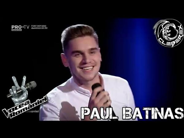 Paul Batinas - Tennessee whiskey (Vocea României 290917)