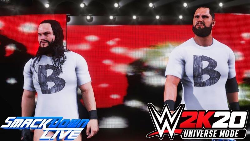 WWE 2K20 Universe SmackDown LIVE На Русском 6