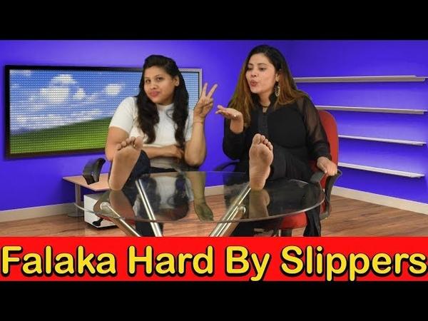 Rajesh Khanna Creation || Falaka Hard By Slippers Challenge || Masti Matic