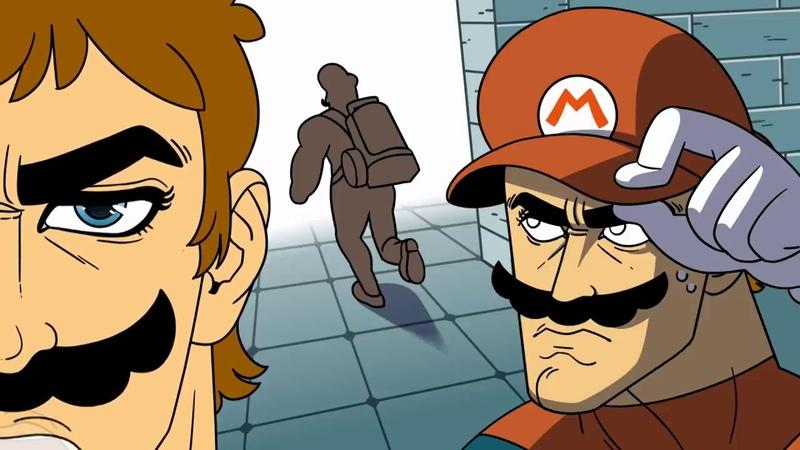Mario Luigi: Super Anime Brothers. RUS. DUB