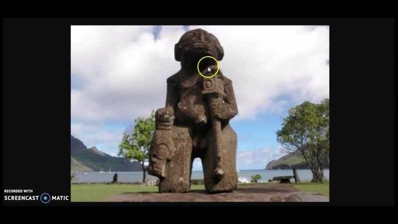 The Strange Stone Statues Of Nuku Hiva