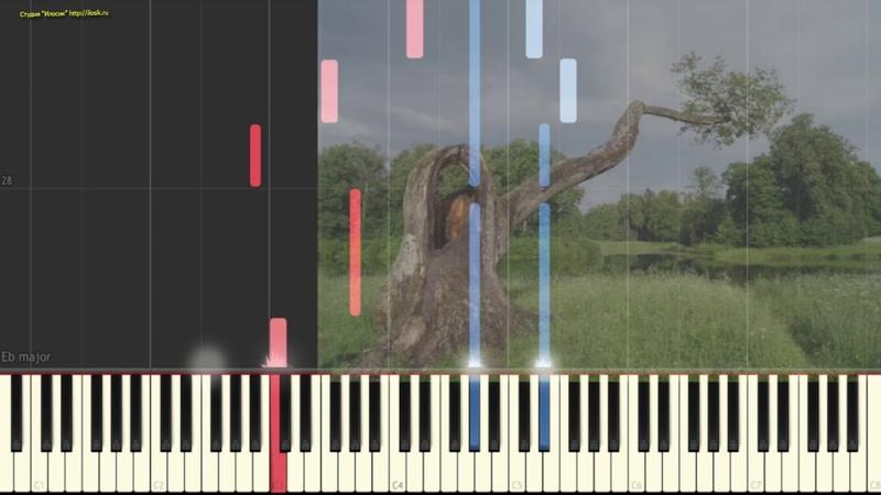Rolf Lovland - Song from a Secret Garden (Ноты и Видеоурок для фортепиано) (piano cover)