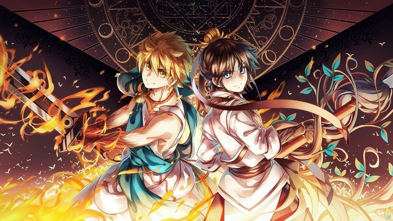 Magi Greatest Battle Theme Song (Magi The Labyrinth Of Magic) ost