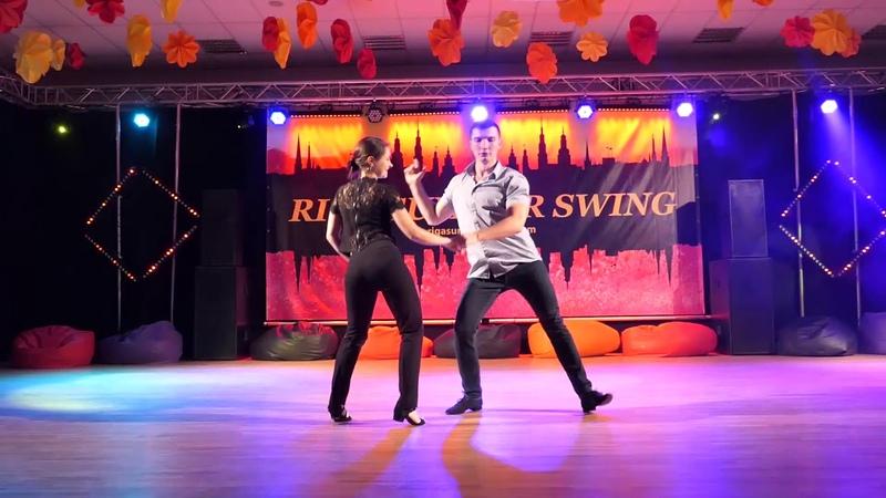 Riga Summer Swing 2019 Pro Show Semion Ovsiannikov Maria Elizarova