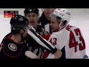 Derek Grant Takes Out Kuznetsov With Cross Check And Scrum Ensues Wilson Gudbranson Come Together