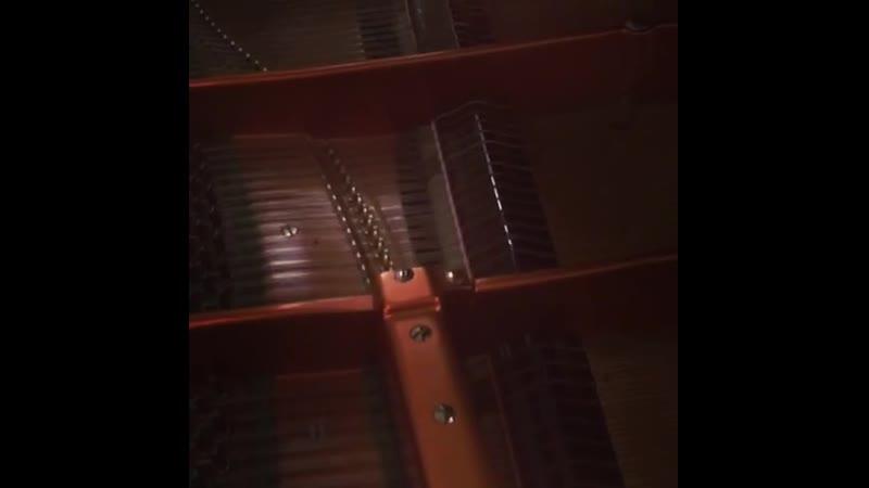 Чайковский на рояле Бёзендофер в Мюрмяки Вантаа в Финляндии