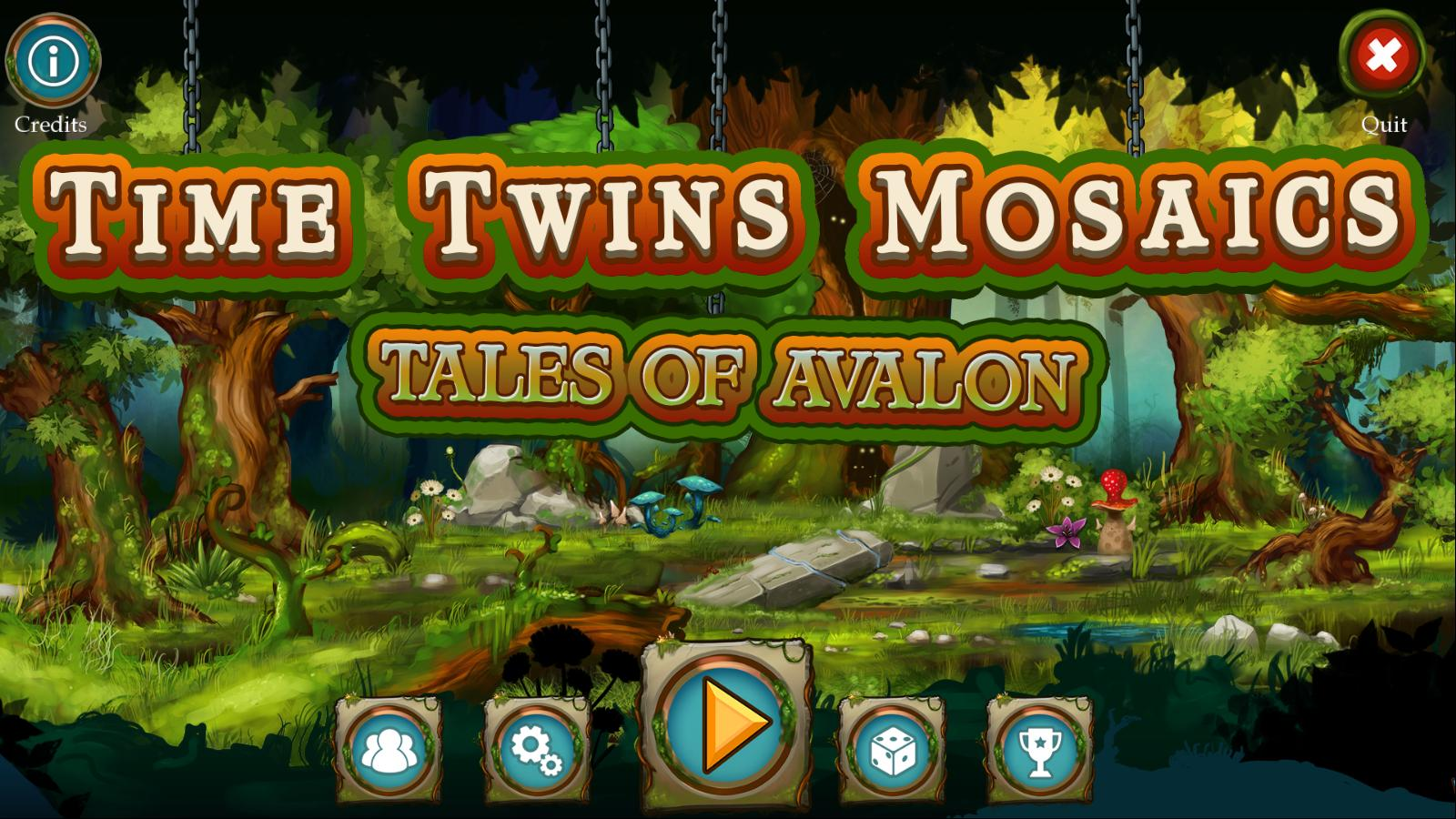 Time Twins Mosaics 3: Tales of Avalon (En)