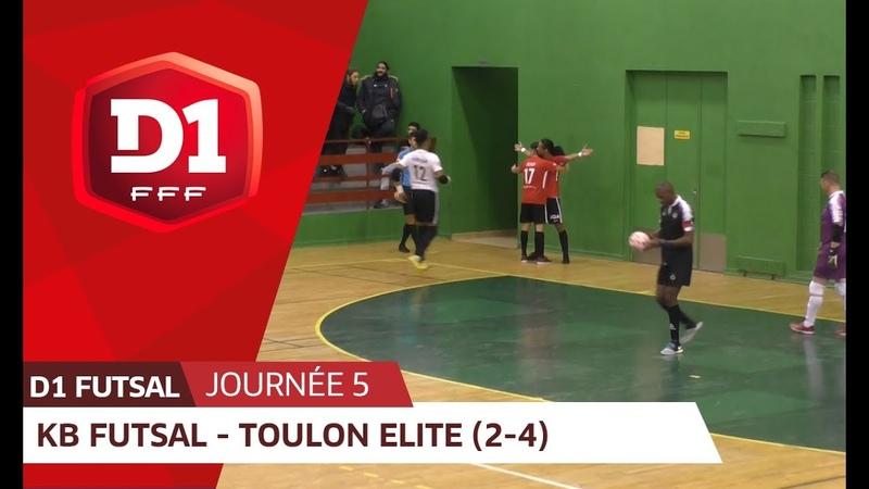 J5 : Kremlin Bicêtre Futsal - Toulon Elite Futsal
