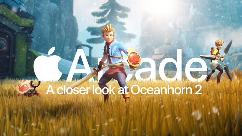 Oceanhorn 2 Knights of the Lost Realm — A Closer Look — Apple Arcade
