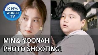 News | Min& Yoonah photo shooting! [Stars' Top Recipe at Fun-Staurant/ENG/]