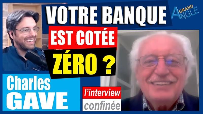 """Charles Gave, Vos Banques En Faillite : """"C'est vous qui allez payer les bêtises du gouvernement"""""""