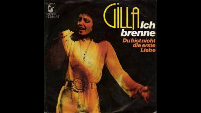 Gilla - Ich brenne - 1976
