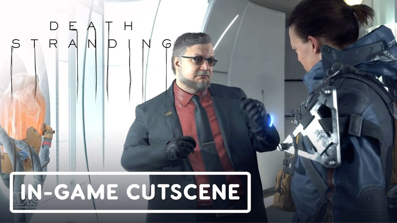 Death Stranding: Bridge Baby Deadman In-Game Cutscene - Gamescom 2019
