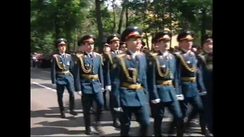 Wunsdorf Вюнсдорф парад посвященный выводу российских войск из Германии 1994