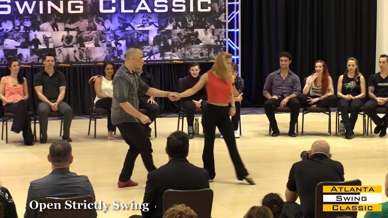 West Coast Swing | Atlanta Swing Classic 2019 | Strictly Swing | Greg and Lemery