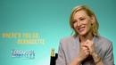 The Ferguson Files 051 Where'd You Go Bernadette Cate Blanchett