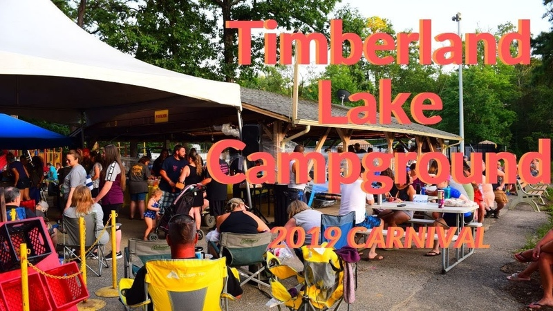 Timberland lake 2019 Carnival Fundraiser for cancer.